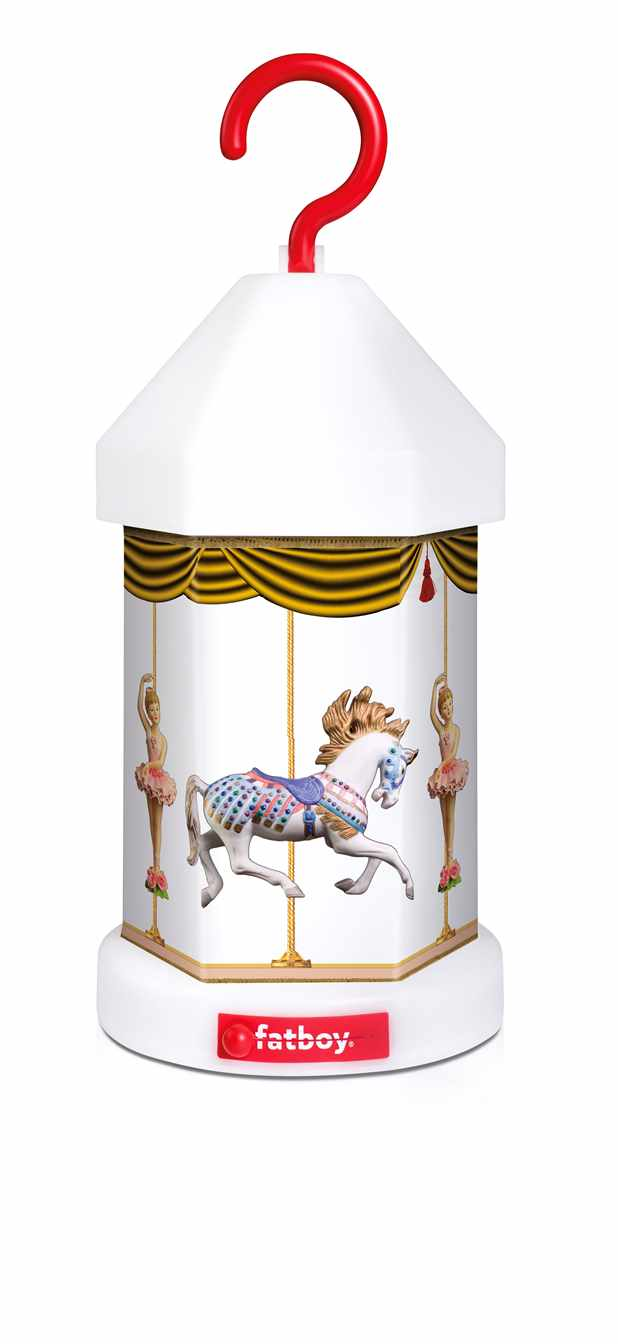 Image of   Fatboy cappie-on lampeskærm carousel