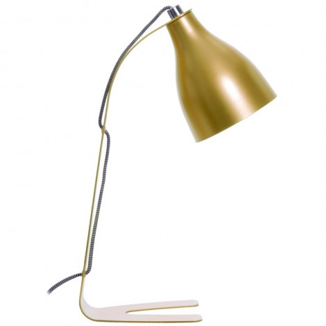Image of   Barefoot bordlampe (messing)