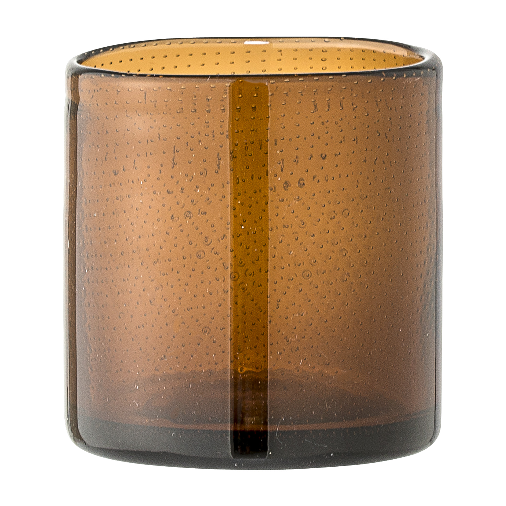 Image of Votive, brown, glass (23607758)
