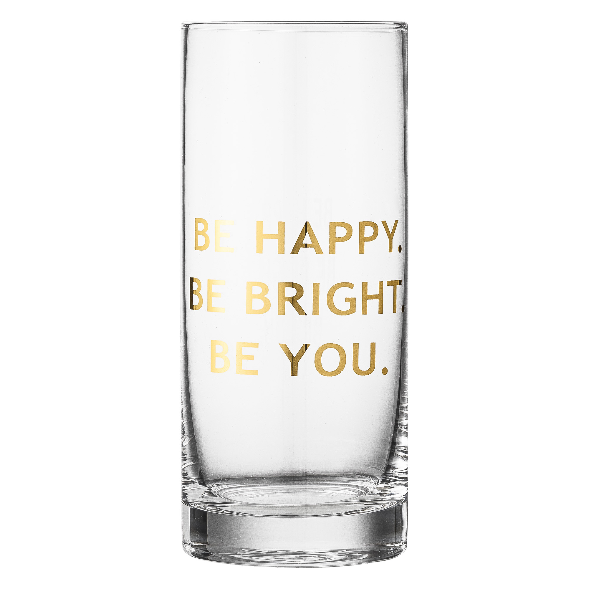 Image of   Bloomingville drikkeglas (be you/h16,5 cm)