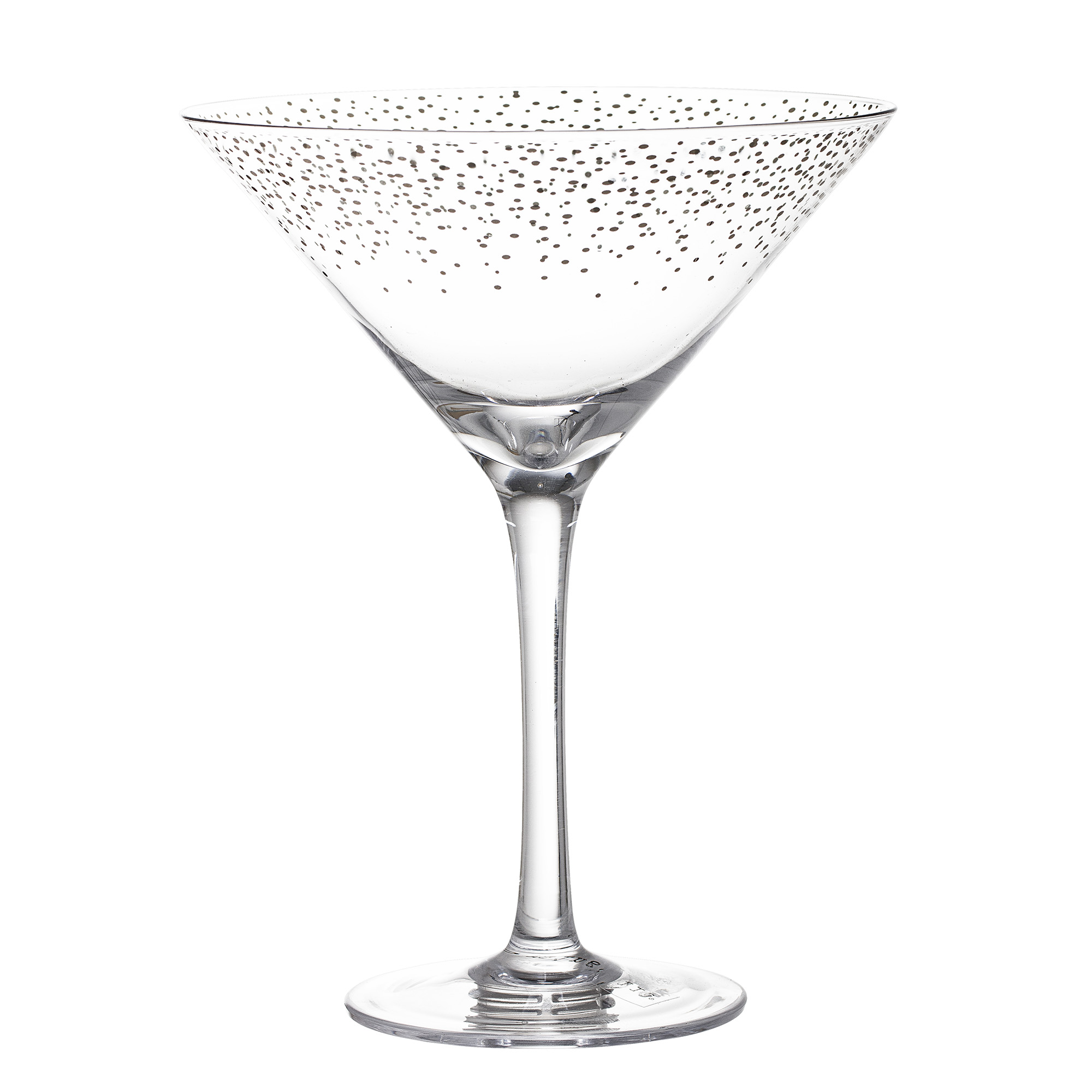 Cocktail glass, clear, glass
