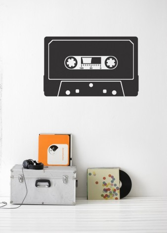 Image of   Cassette wallsticker
