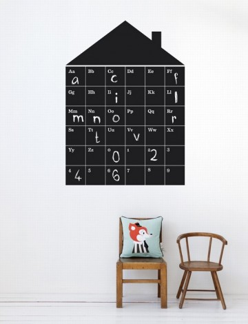 Image of   Abc house wallsticker