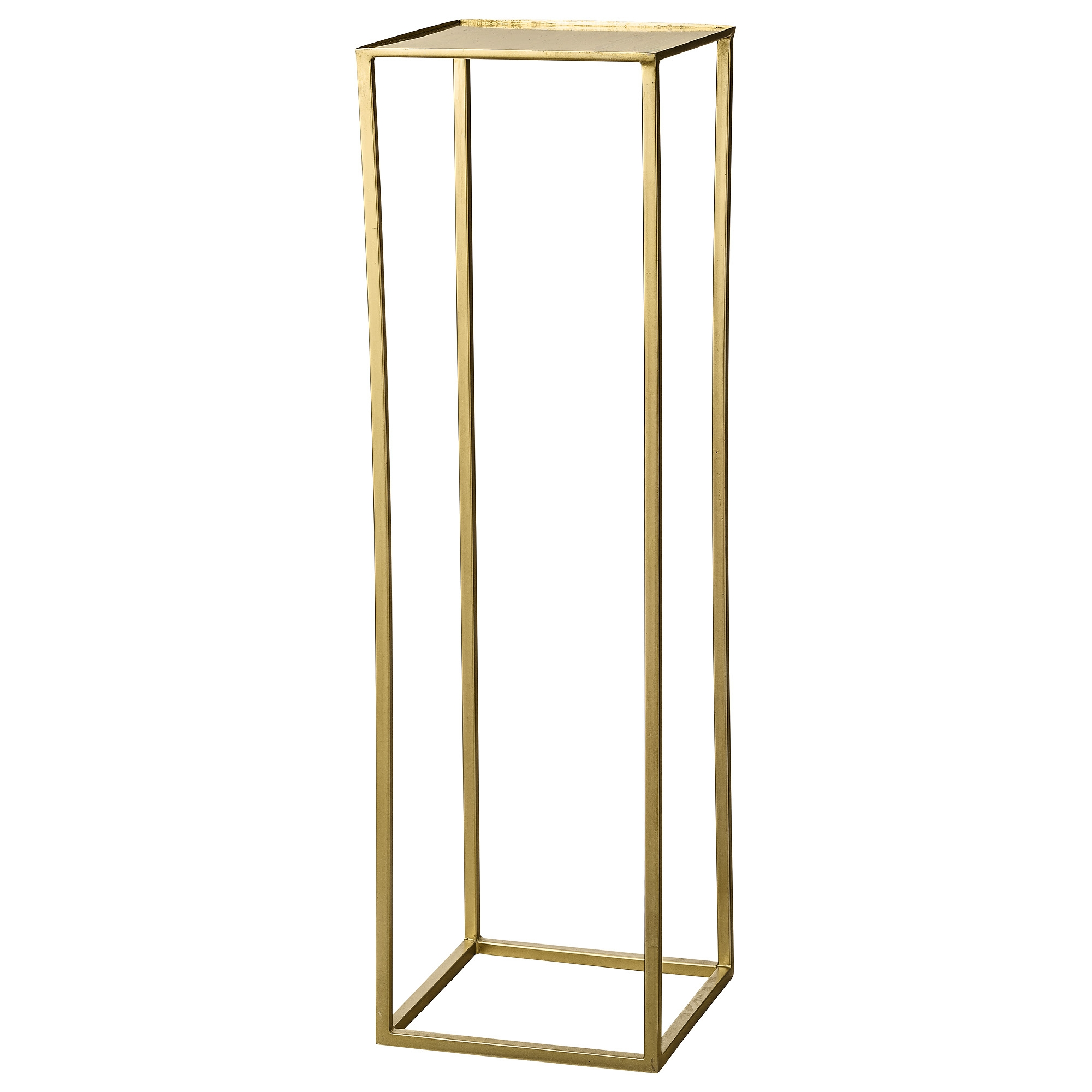 Image of   Bloomingville cube piedestal (guld)