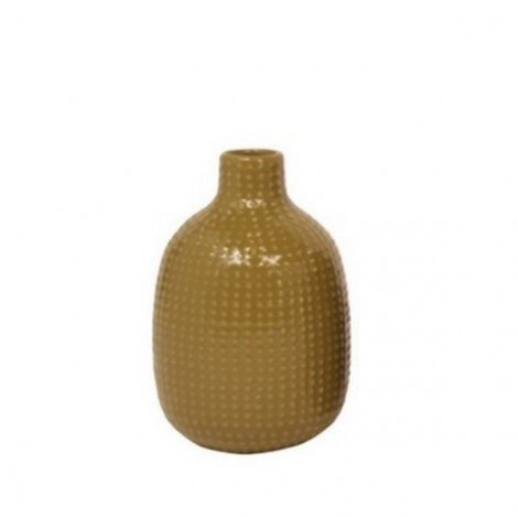 Image of   Vase chubby dotty (grøn)