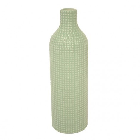 Image of   Vase tall dotty (mint)