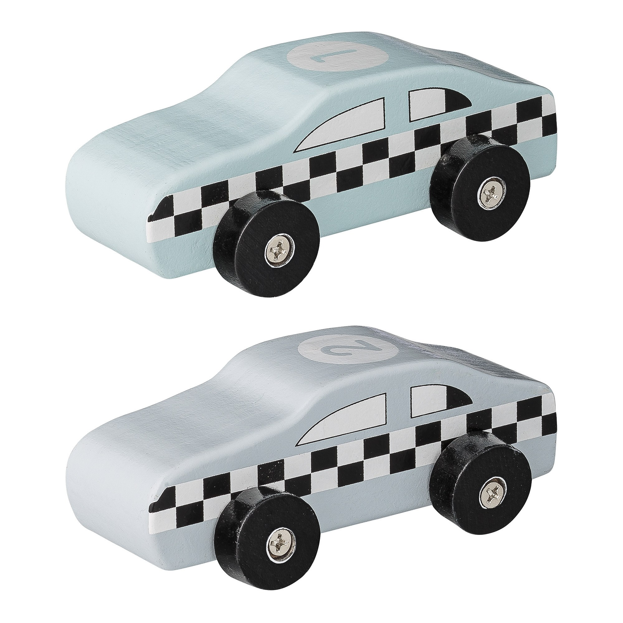 Image of   Toy car, blue, mdf