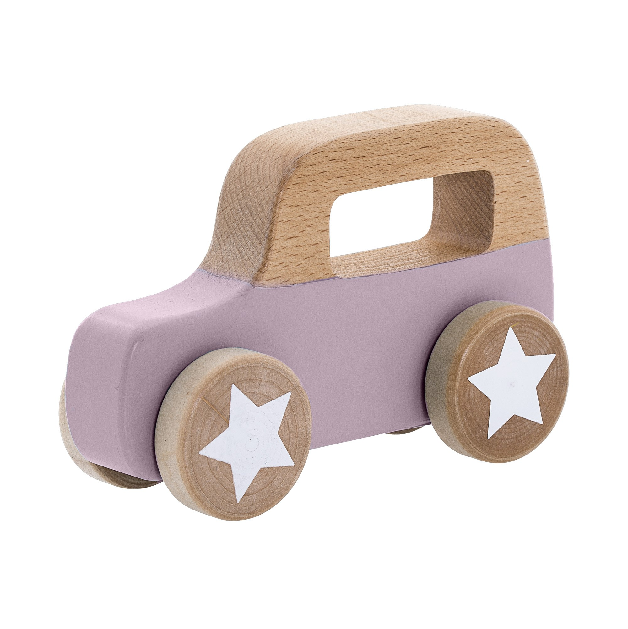 Image of   Toy car, purple, beech