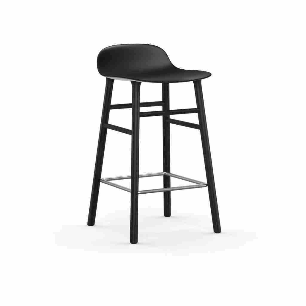 Image of   Normann copenhagen form barstol 65 cm sort (sort)