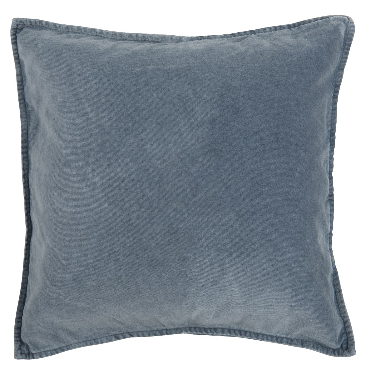 Image of   Ib laursen pudebetræk velour colonial blue