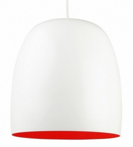 Image of   Kalimero lampe (hvid/orange)