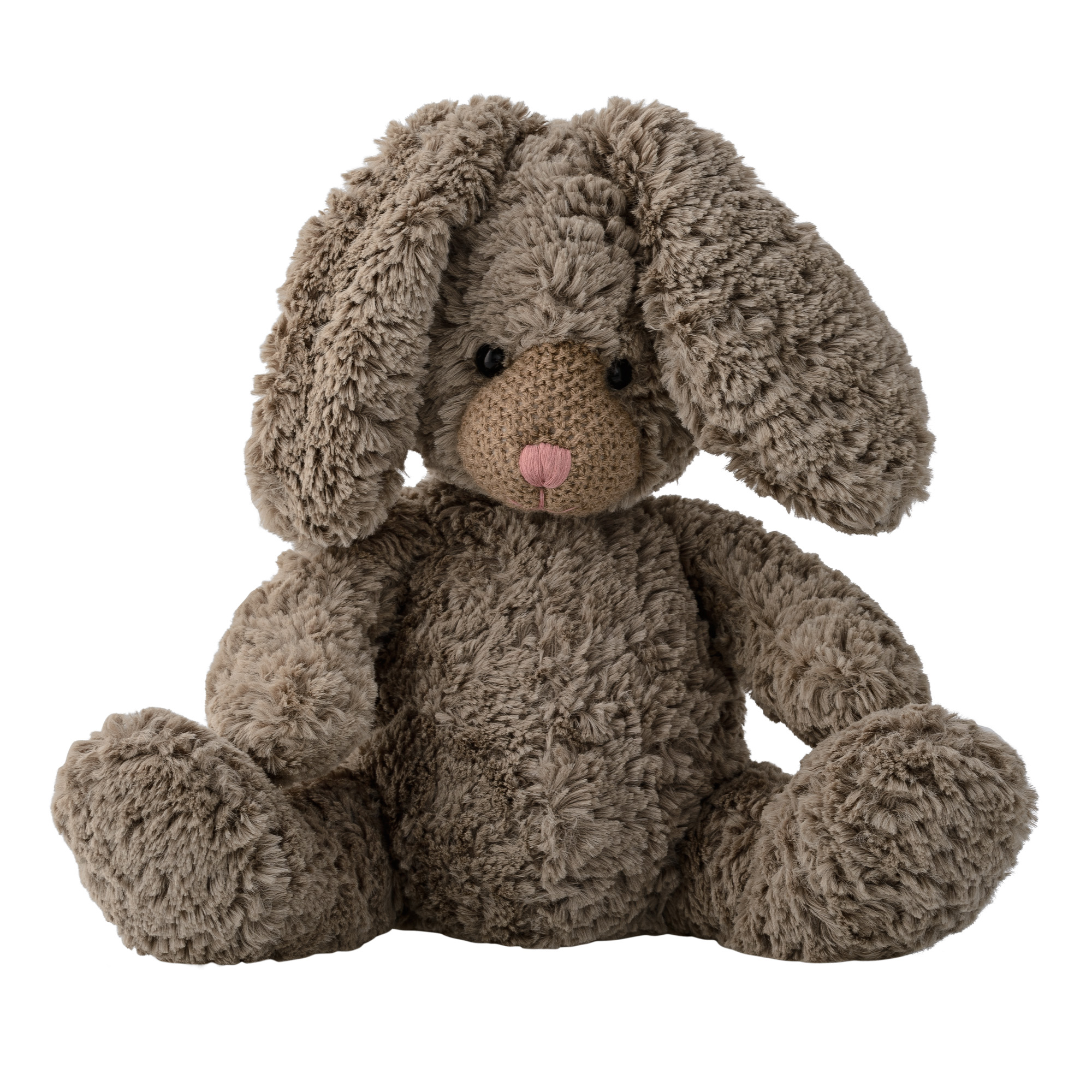 Image of   Plush bunny, brown, polyester