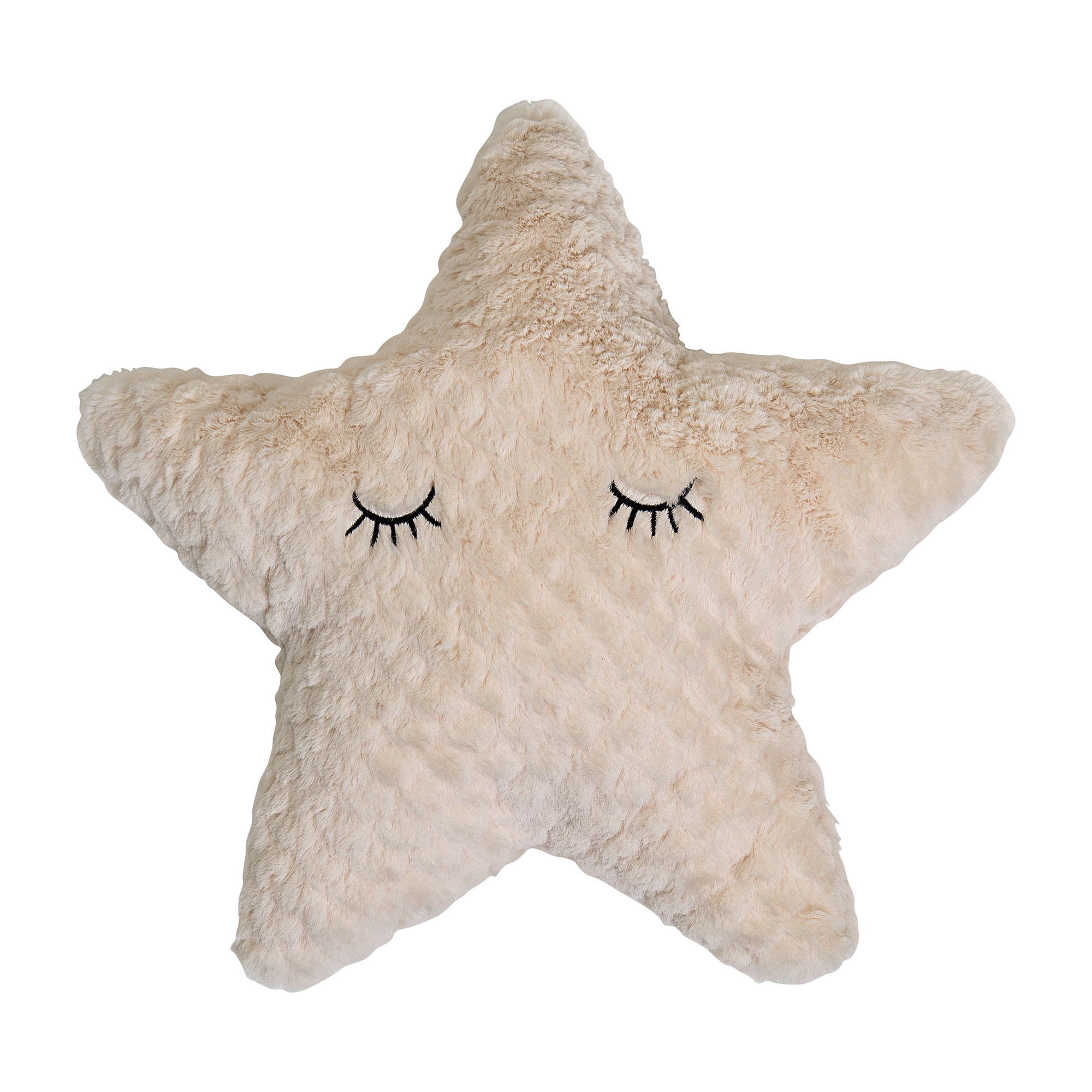 Image of   Star cushion, nature, polyester