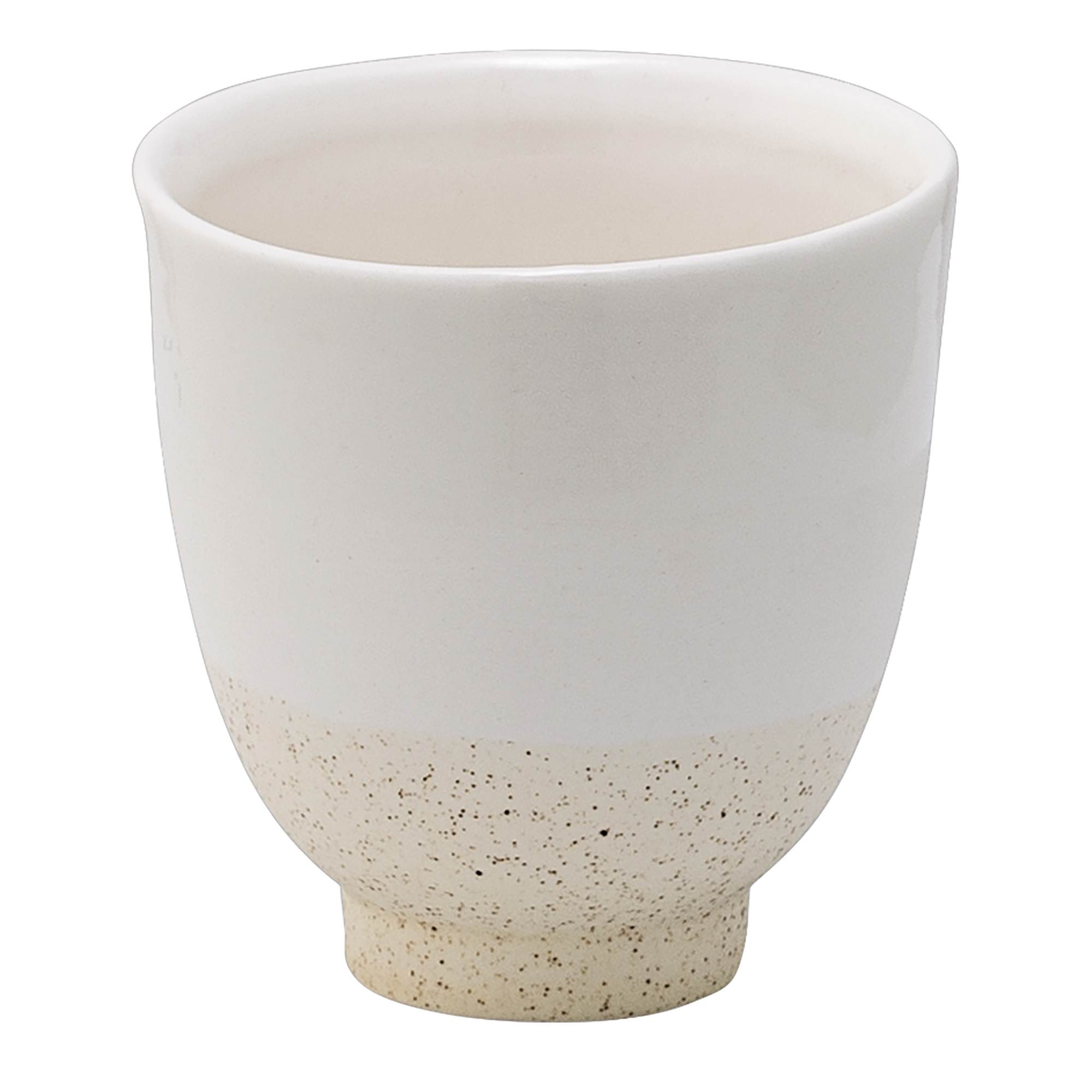 Image of   Cup, offwhite matte/shiny