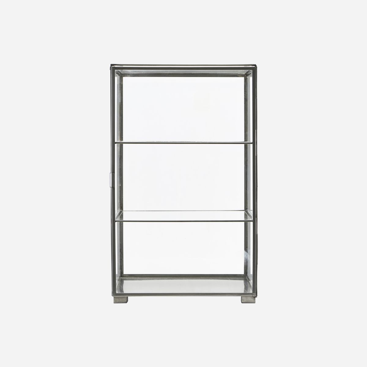 Image of   House doctor kabinet glass zink b35 cm