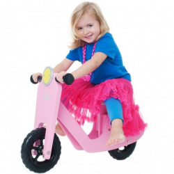 SCOOTER LØBECYKEL (PINK)