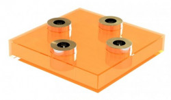 NEON LIVING SQUARE LIGHZ (ORANGE)