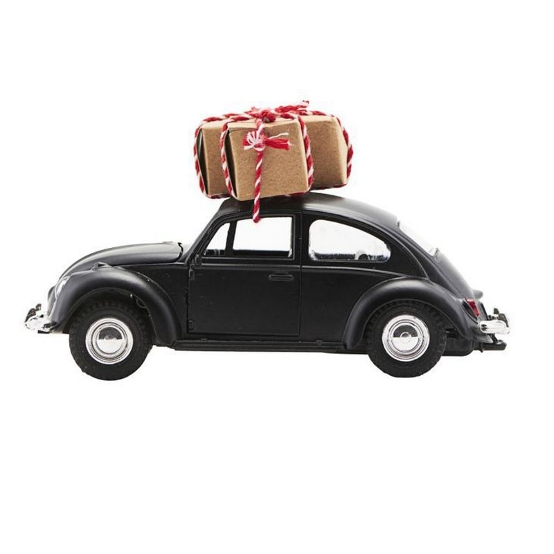Image of House doctor x-mas car (sort) (25182)