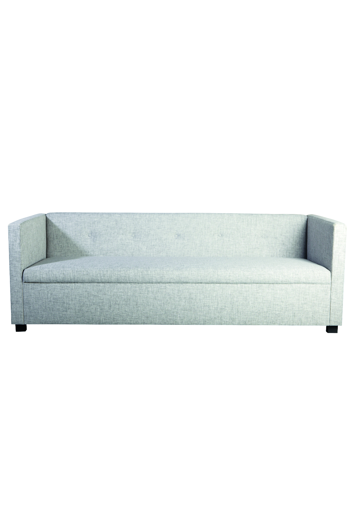 Image of   House doctor sofa botton lysegrå 80x220 cm h75 cm polyester