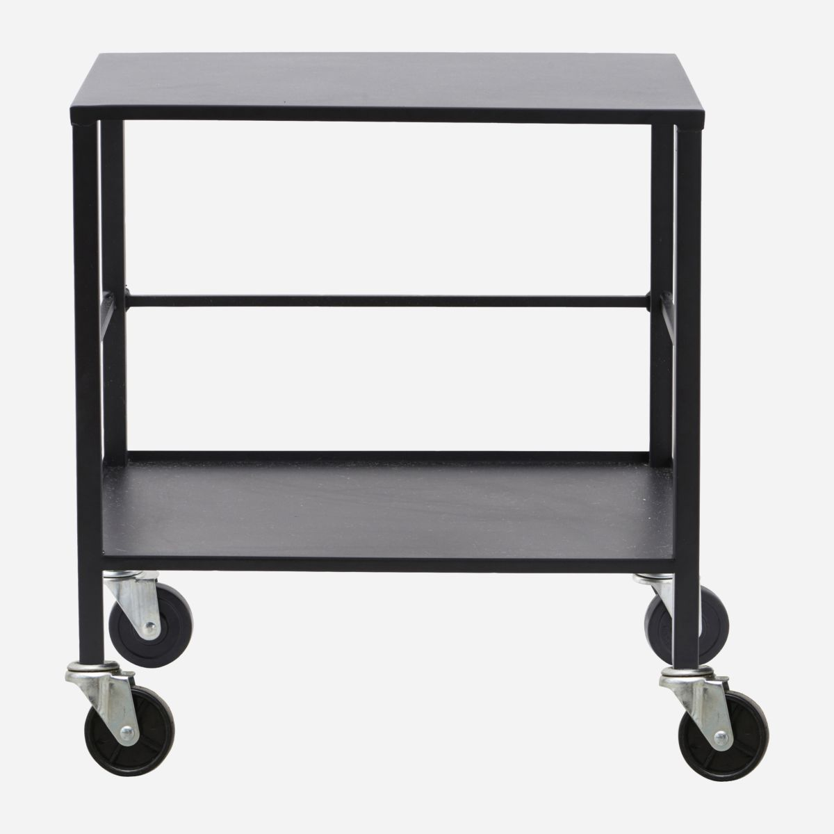Image of   House doctor trolley office black 50x35 h55 cm