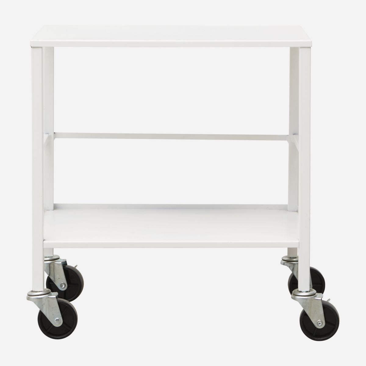 Image of   House doctor trolley office hvid 50x35 cm h55 cm