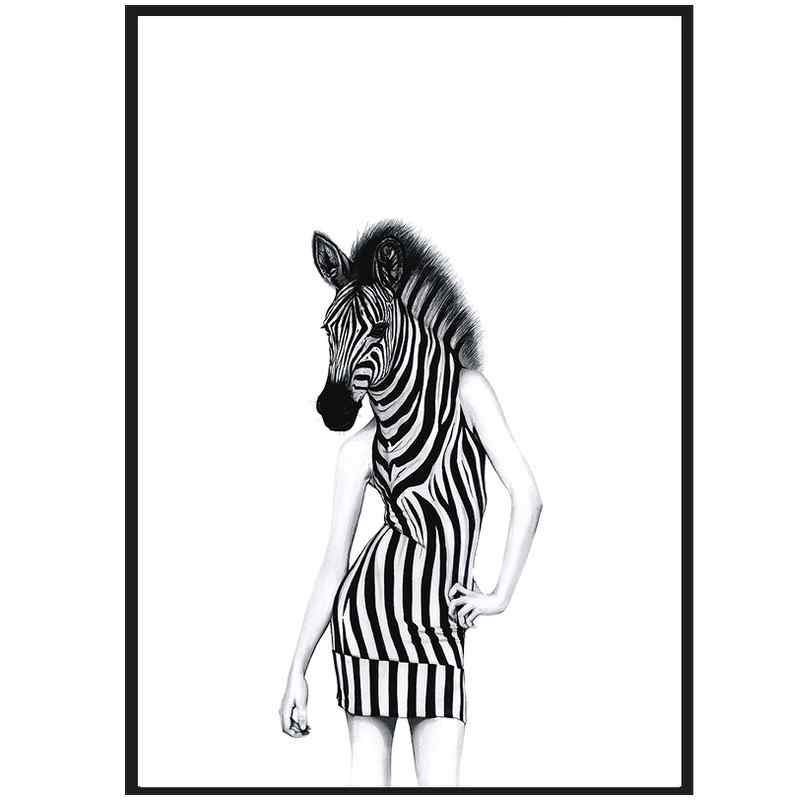 Image of   Sanna wieslander party animal (50x70)